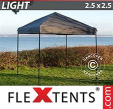 Pikateltta FleXtents Light 2,5x2,5m Harmaa