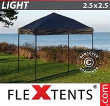 Pikateltta FleXtents Light 2,5x2,5m Musta